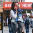 Vanessa Williams dans les rues de New York, le 29 avril 2015