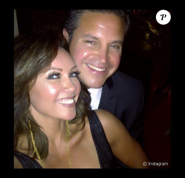 Vanessa Williams et son futur mari Jim Skrip, sur Instagram le 11 avril 2015