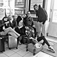 Les Miss rentrent à Paris après le tournage de  Fort Boyard , les 18 et 19 mai 2015.