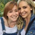 Alyson Hannigan et Sarah Michelle Gellar le 23 mai 2015 à Santa Monica