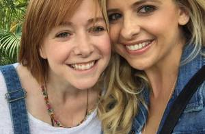 Sarah Michelle Gellar et Alyson Hannigan: Les stars de Buffy complices à la fête