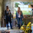 Emeline et Aurélien donnent des nouvelles dans  L'amour est dans le pré - Que sont-ils devenus ?  sur M6, le lundi 25 mai 2015.