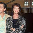 Anny Duperey et Bernard Giraudeau à Paris, le 24 juin 1991.