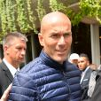 """ Zinedine Zidane - People au village des Internationaux de France de tennis de Roland Garros à Paris le 29 mai 2015.  """