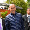 Zinedine Zidane - People au village des Internationaux de France de tennis de Roland Garros à Paris le 29 mai 2015.