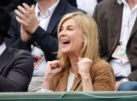 Roland-Garros : Michèle Laroque exaltée devant Zinedine Zidane et Julien Doré