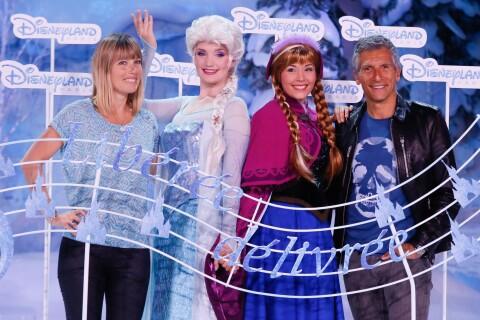 Nagui et Mélanie Page : Un vent d'amour souffle sur Disneyland Paris