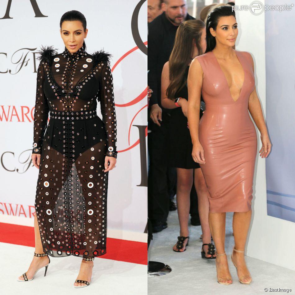 Kim Kardashian, enceinte : Après la robe transparente ...
