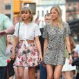 Taylor Swift, Gigi Hadid et Martha Hunt se promènent à New York le 30 mai 2015.