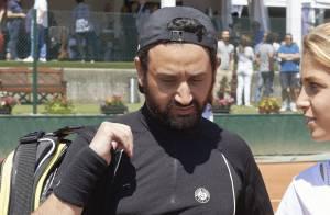 Cyril Hanouna : Redoutable à Roland-Garros... et en route pour la finale !