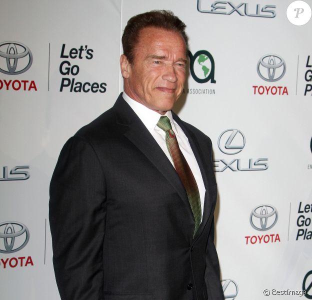 Arnold Schwarzenegger - Tapis rouge du Annual Environmental Media Awards à Los Angeles Le 18 octobre 2014