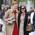 Karen Elson et Dakota Johnson à la fondation Dia Art lors du défilé Gucci croisière 2016. New York, le 4 juin 2015.