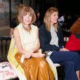 Anna Wintour et Virginia Smith assistent au défilé Gucci croisière 2016 à la fondation Dia Art. New York, le 4 juin 2015.