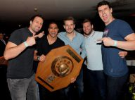 Daniel Narcisse et le PSG handball, rois de la nuit pour fêter leur titre