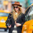 Amber Heard à New York Le 17 avril 2015.