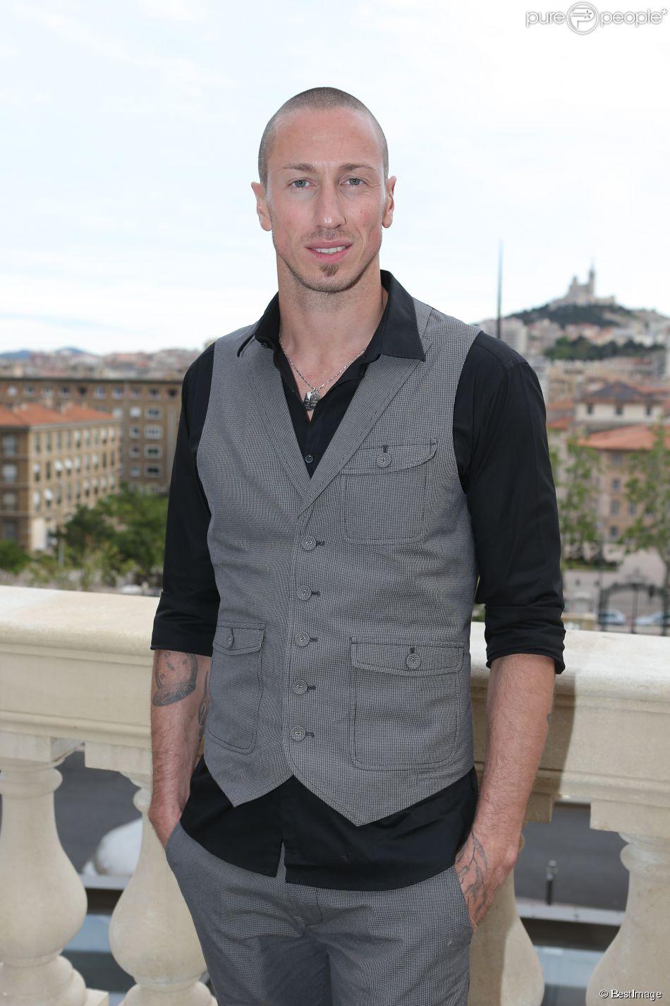 Exclusif - Frédérick Bousquet - Dîner de Gala de l'OM et vente aux enchères animée par Kad Merad et Alice Pol à Marseille le 6 mai 2014.