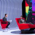 Exclusif - Enregistrement de l'émission  Le Divan  présentée par Marc-Olivier Fogiel avec le chanteur Mika, le 10 avril 2015.