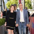Emilie Dequenne (habillée en Paule Ka et en bijoux Van Cleef & Arpels) et son mari Michel Ferracci - Soirée de clôture du 4e Champs Elysées Film Festival à Paris le 16 juin 2015