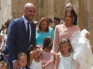 Pepe Reina (Bayern Munich) : Papa ravi avec Yolanda pour le baptême de leur bébé