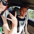 Paris Jackson et son petit ami Chester Castellaw sur Instagram - Mai 2015