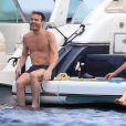 Daniela Christiansson en vacances à Ibiza, le 14 juin 2015.