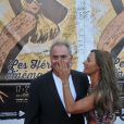"""Exclusif - Philippe Risoli et Nathalie Marquay Pernault lors du 12e festival """"Les Hérault du Cinéma et de la Télévision"""" au Cap d'Agde, le 20 juin 2015."""
