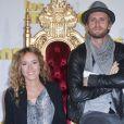 """Elodie Fontan et Philippe Lacheau - Avant-première du film """"Les Minions"""" au Grand Rex à Paris le 23 juin 2015."""