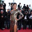 """Arlenis Sosa - Montée des marches du film """"Deux jours, une nuit"""" lors du 67 ème Festival du film de Cannes – Cannes le 20 mai 2014."""