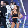 Ariana Grande - Défilé Victoria's Secret à Londres, le 2 décembre 2014.