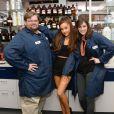 Ariana Grande et son équipe de Luxe Brands travaille à la création de son parfum, New York, le 30 mars 2015