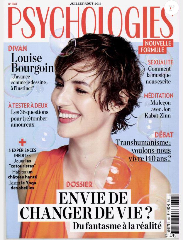 Le magazine Psychologies des mois de juillet et août 2015