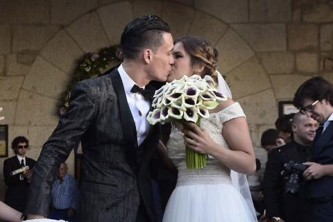 José Callejón marié : La star du Napoli a dit oui à sa belle Marta Ponseti