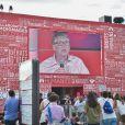 Bill Gates ouvre la 17e édition de Solidays à Paris le 26 juin 2015.
