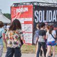 Illustration - 17e Festival Solidays à l'Hippodrome de Longchamps le 26 juin 2015.