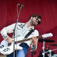 Le groupe britannique The Vaccines - 17e édition du festival Solidays sur l'hippodrome de Longchamp à Paris le 27 juin 2015.