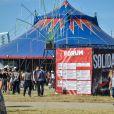 17e édition du festival Solidays sur l'hippodrome de Longchamp à Paris le 27 juin 2015.