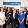 Nouveaux ambassadeurs et ambassadrices people de la fondation Claude Pompidou. Juin 2015.