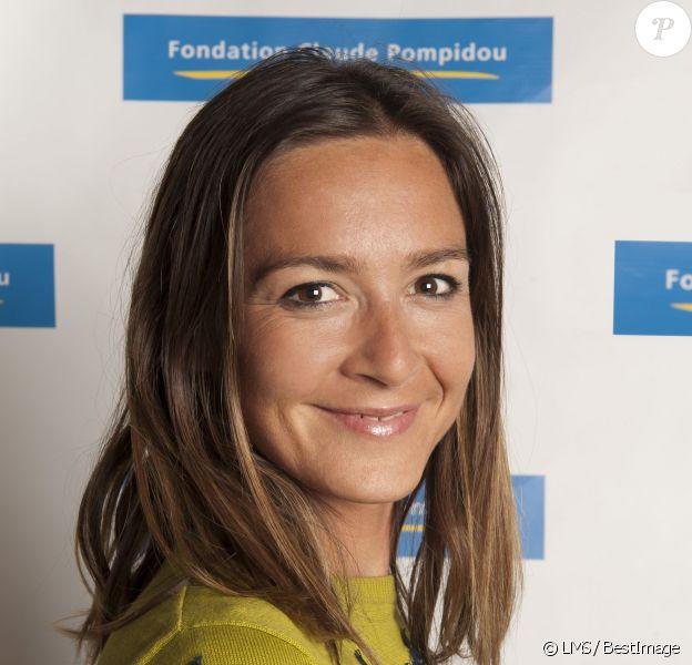 Emmanuelle Boidron - Présentation des nouveaux ambassadeurs et ambassadrices people de la fondation Claude Pompidou. Juin 2015.