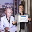 Vincent Chatelain - Présentation des nouveaux ambassadeurs et ambassadrices people de la fondation Claude Pompidou. Juin 2015.