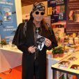Francis Lalanne - 35ème Salon du Livre à la Porte de Versailles à Paris, le 21 mars 2015.