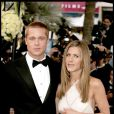 Brad Pitt et Jennifer Aniston à Cannes en 2004