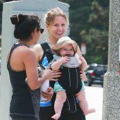 Kristen Bell : Radieuse pour une sortie avec sa fille Delta, tout sourire