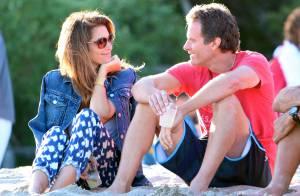 Cindy Crawford et Rande Gerber amoureux, devant un Gerard Butler bien entouré
