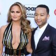 "John Legend, Chrissy Teigen - Soirée des ""Billboard Music Awards"" à Las Vegas le 17 mai 2015."