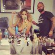 Chrissy Teigen dévoile un sein sur Instagram - Juillet 2015