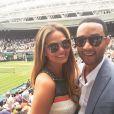 Chrissy Teigen et son mari John Legend sur Instagram - Juillet 2015