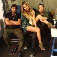 Chrissy Teigen avec son mari John Legend a ajouté une photo à son compte Instagram - Juillet 2015
