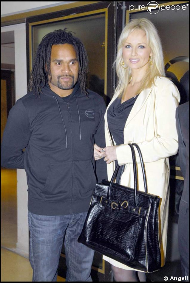 Adriana Karembeu et son époux Christian