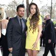 """Peter Andre et sa petite amie Emily MacDonagh - Personnalités arrivant aus """"TRIC Awards 2014"""" à Londres, le 11 mars 2014."""