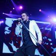 Peter Andre en concert a Liverpool le 25 Janvier 2013.